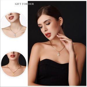 Jewelry - Brand new Tiny Virgin Mary Necklace